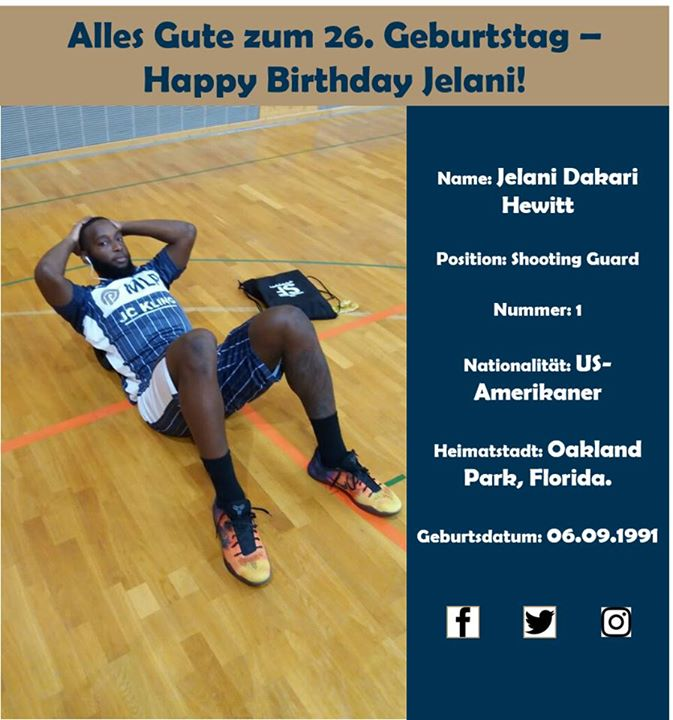 HAPPY BIRTHDAY, Jelani Hewitt | FLAGSHIP SPORTS